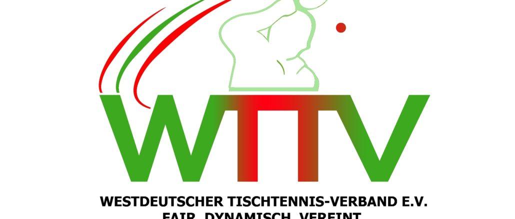 wttv logo 4 1030x438 - WESTDEUTSCHER TISCHTENNIS-VERBAND INFORMIERT