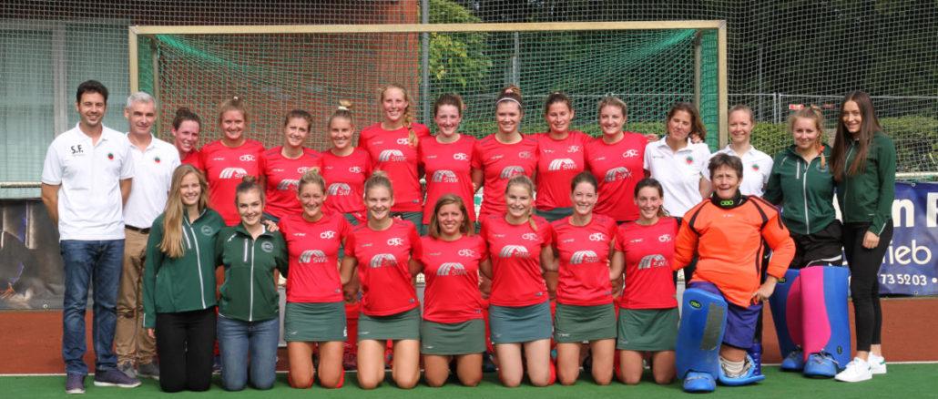Der aktuelle Kader der 1. Damen-Mannschaft des Crefelder HTC in der 2. Bundesliga. Copyright: CHTC
