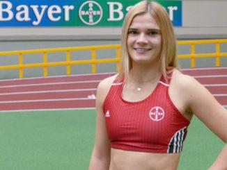 Louisa Grauvogel - erstmals im Vereinstrikot TSV Bayer Leverkusen - Foto: TSV Bayer Leverkusen