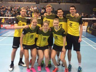 Die Erste beendet Hinrunde mit einem Sieg - Foto: Maximilian Schneider -  BC Bonn-Beuel