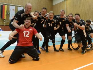Deutschlands Sitzvolleyballer  Finale geschafft © Ralf Kuckuck   DBS 83129 326x245 - DEUTSCHLAND BESIEGT DIE UKRAINE