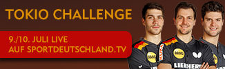 Tokio Challenge 330 x 100px 326x100 - DTTB UND SPORTSTADT DÜSSELDORF LADEN ZUR TOKIO CHALLENGE
